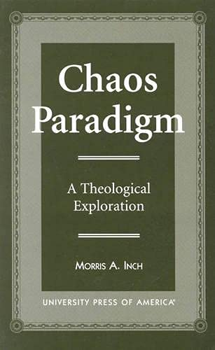 9780761810605: Chaos Paradigm: A Theological Exploration