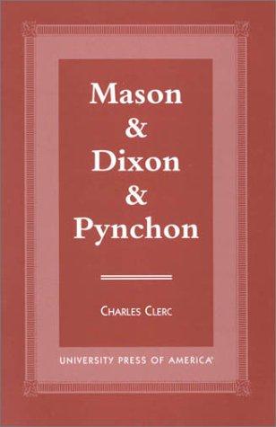 9780761817925: Mason & Dixon & Pynchon