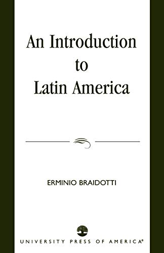 9780761820987: An Introduction to Latin America
