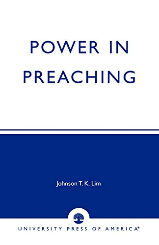 9780761823469: Power in Preaching