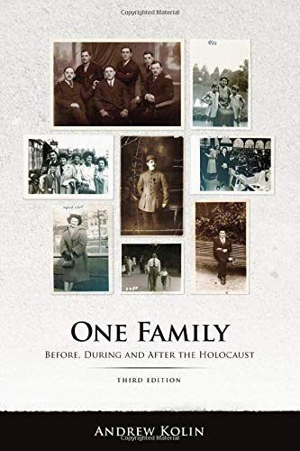 1 Family: Before and During the Holocaust, by Kolin, 2nd Edition: Kolin, Andrew