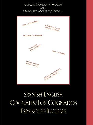 9780761831815: Spanish-English Cognates / Los Cognados Espa-oles-Ingleses