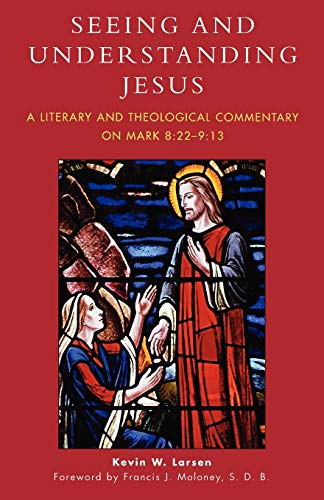 9780761832102: Seeing and Understanding Jesus: A Literary and Theological Commentary on Mark 8:22-9:13