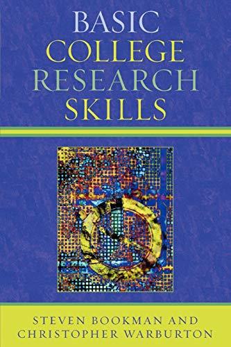 9780761835516: Basic College Research Skills