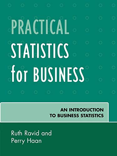 9780761838845: Practical Statistics for Business: An Introduction to Business Statistics