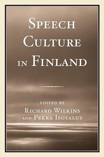 9780761844532: Speech Culture in Finland