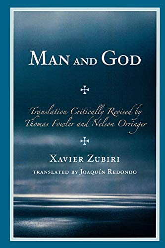Man and God (0761847022) by Xavier Zubiri