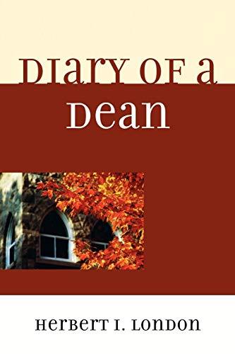 9780761851714: Diary of a Dean