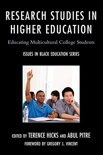 9780761857785: Research Studies in Higher Education: Educating Multicultural College Students (Issues in Black Education)