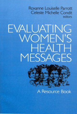 9780761900566: Evaluating Women′s Health Messages: A Resource Book