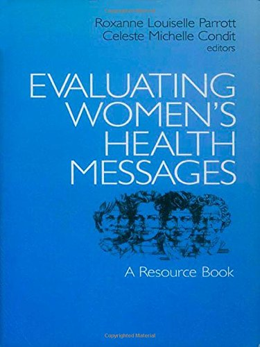 9780761900573: Evaluating Women′s Health Messages: A Resource Book