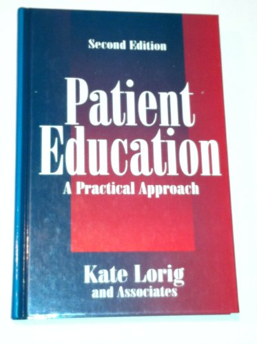 9780761900733: Patient Education: A Practical Approach