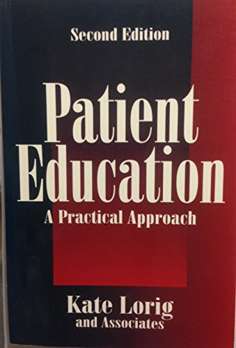 9780761900740: Patient Education: A Practical Approach