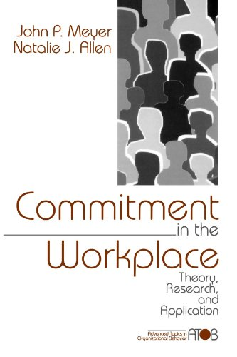 9780761901051: Commitment in the Workplace: Theory, Research, and Application (Advanced Topics in Organizational Behavior)