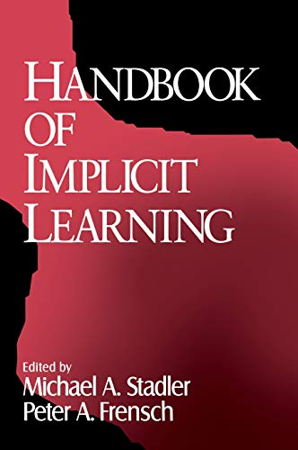 9780761901976: Handbook of Implicit Learning