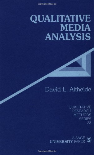 9780761901990: Qualitative Media Analysis (Qualitative Research Methods)