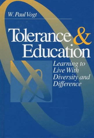 9780761902164: Tolerance & Education: Learning To Live with Diversity and Difference