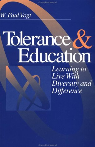 9780761902171: Tolerance & Education: Learning To Live with Diversity and Difference