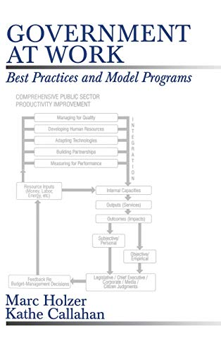 9780761902409: Government at Work: Best Practices and Model Programs