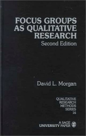 9780761903420: Focus Groups as Qualitative Research (Qualitative Research Methods)