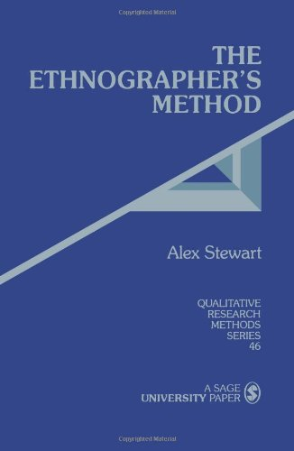9780761903949: The Ethnographer's Method (Qualitative Research Methods)