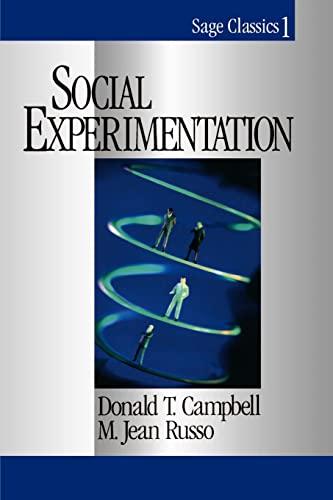 9780761904052: Social Experimentation (Sage Classics Series)