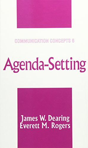 9780761905622: Agenda-Setting (Communication Concepts)