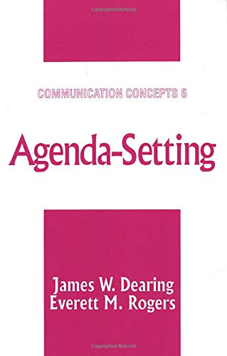 9780761905639: Agenda-Setting (Communication Concepts)