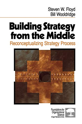 9780761906452: Building Strategy from the Middle: Reconceptualizing Strategy Process (Foundations for Organizational Science)