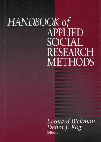9780761906728: Handbook of Applied Social Research Methods