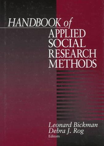 9780761906728: Handbook of Applied Social Research Methods