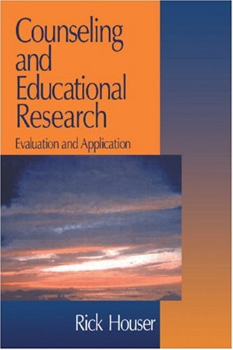 9780761907404: Counseling and Educational Research: Evaluation and Application