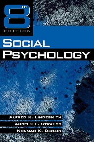 9780761907459: Social Psychology