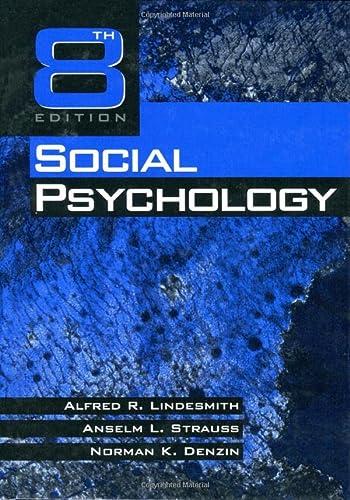 9780761907466: Social Psychology