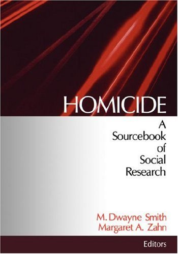 9780761907657: Homicide: A Sourcebook of Social Research