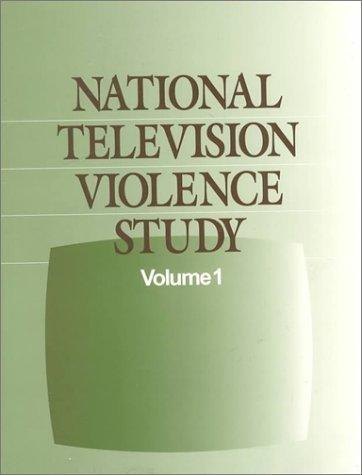 9780761908012: National Television Violence Study (National Television Violence Study series)