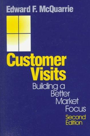 9780761908838: Customer Visits: Building a Better Market Focus