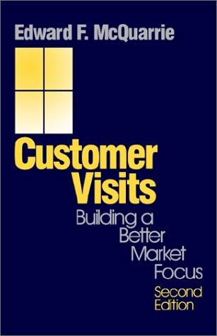 9780761908845: Customer Visits: Building a Better Market Focus