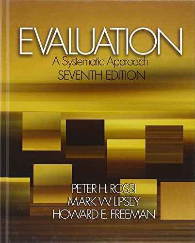 9780761908944: Evaluation: A Systematic Approach