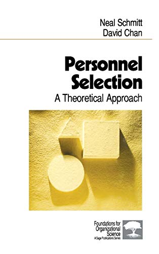9780761909859: Personnel Selection: A Theoretical Approach