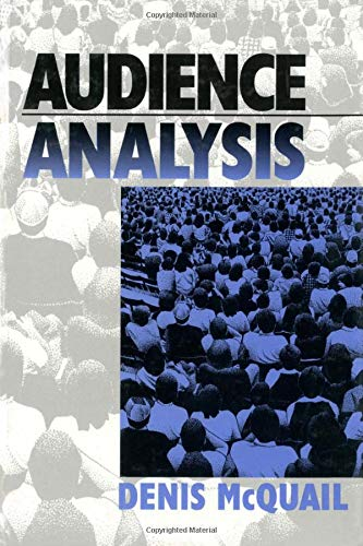 9780761910015: Audience Analysis