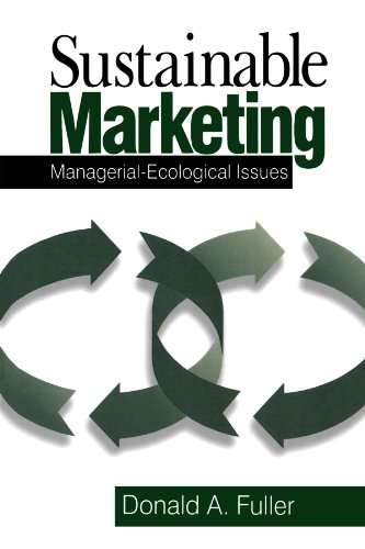 9780761912194: Sustainable Marketing: Managerial - Ecological Issues