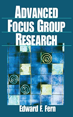 9780761912484: Advanced Focus Group Research