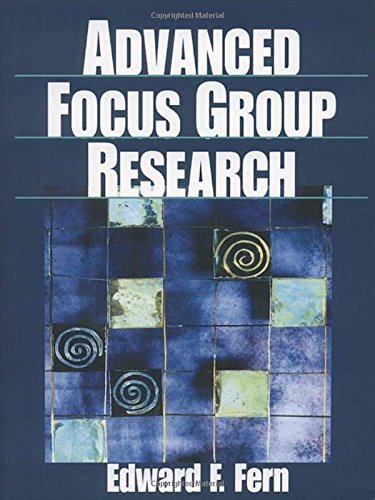 9780761912491: Advanced Focus Group Research