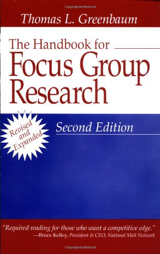 9780761912538: The Handbook for Focus Group Research