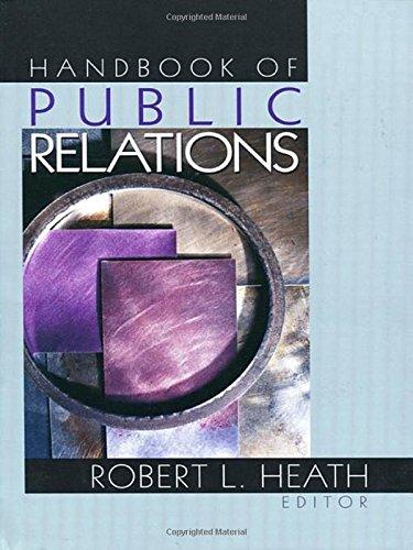 9780761912866: Handbook of Public Relations