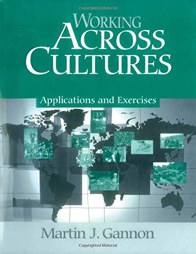 9780761913382: Working Across Cultures: Applications and Exercises