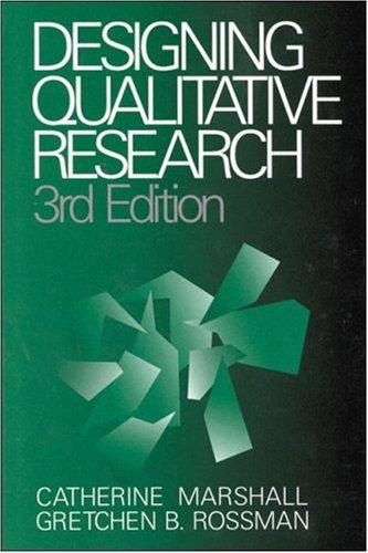 9780761913399: Designing Qualitative Research