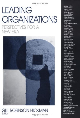 9780761914235: Leading Organizations: Perspectives for a New Era