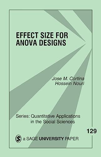 Effect Size for Anova Designs: Nouri, Dr Hossein,